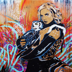 Owl Be Waiting 4x4ft 2014