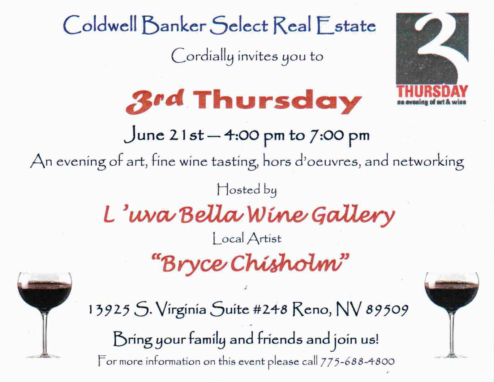 3rd Thursday, L'Uva Bella Wines