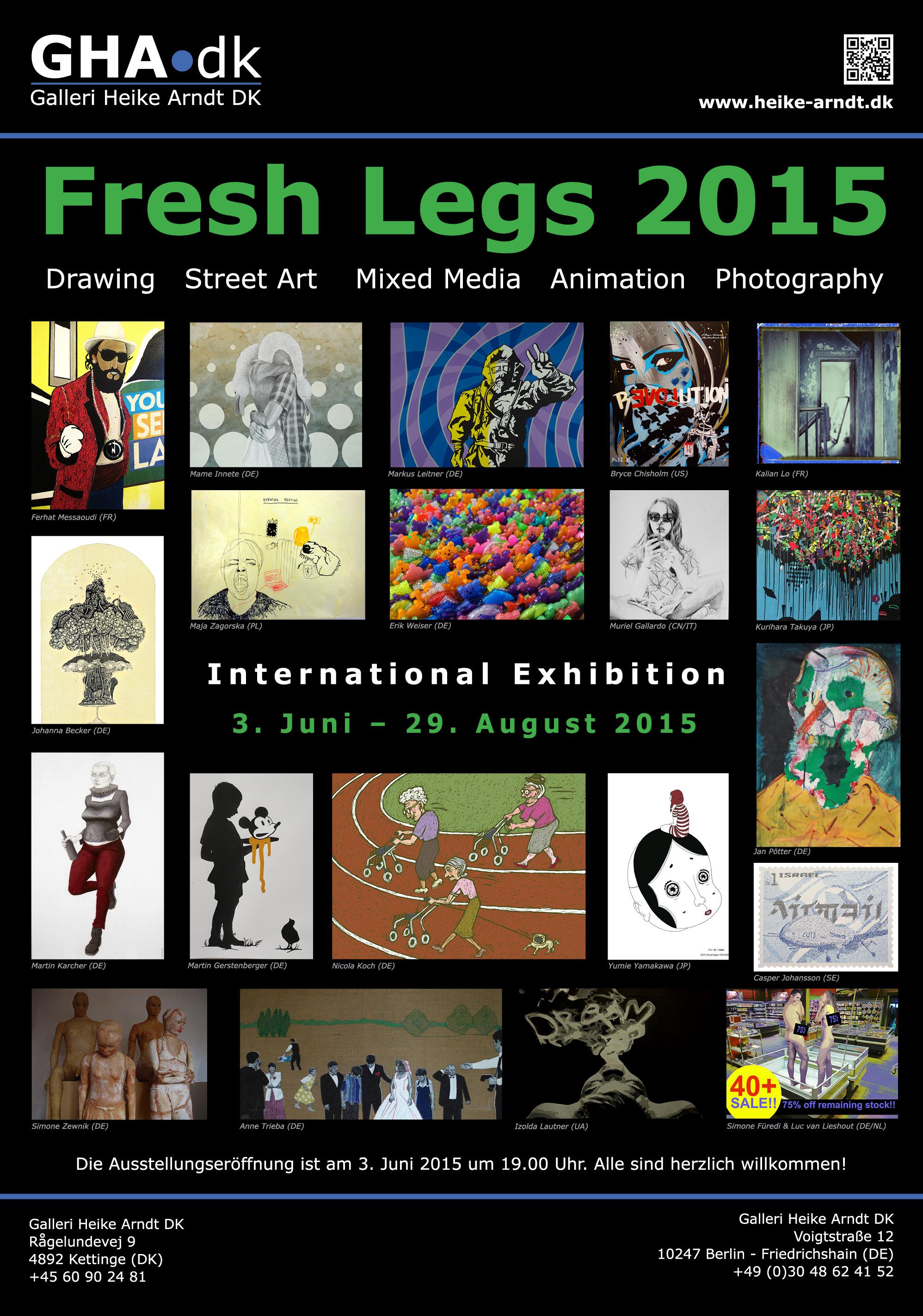 Fresh Legs- Gallery Heike Arndt