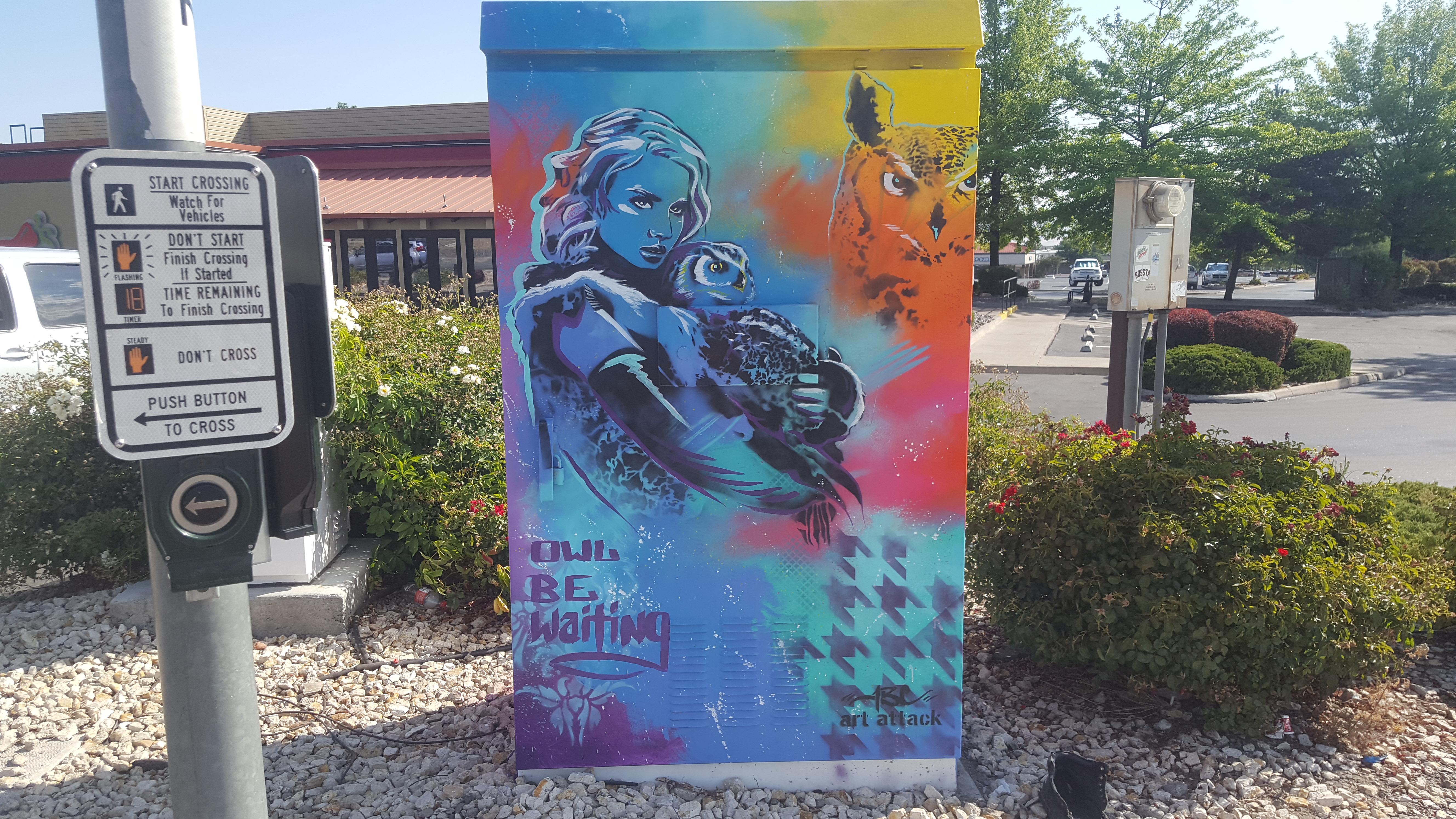 City of Reno Signal Box