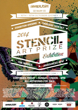 Stencil Art Prize 2014