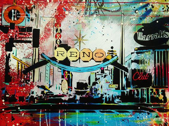 Reno Arch print