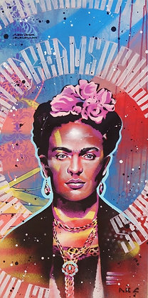 Frida 18x36in