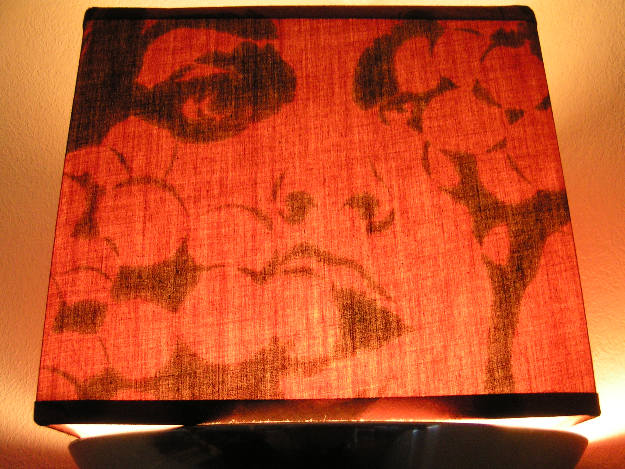 Lamp shade painting