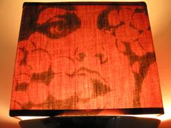 Lamp shade painting