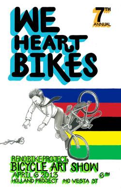 We HeArt Bikes