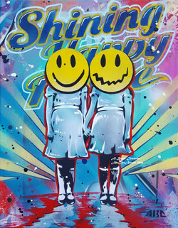 Shining Happy People 11x14in 2016