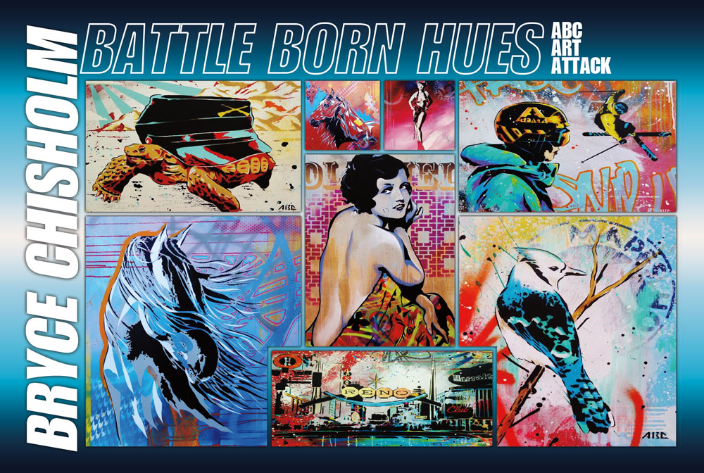 Battle Born Hues- Sierra Arts