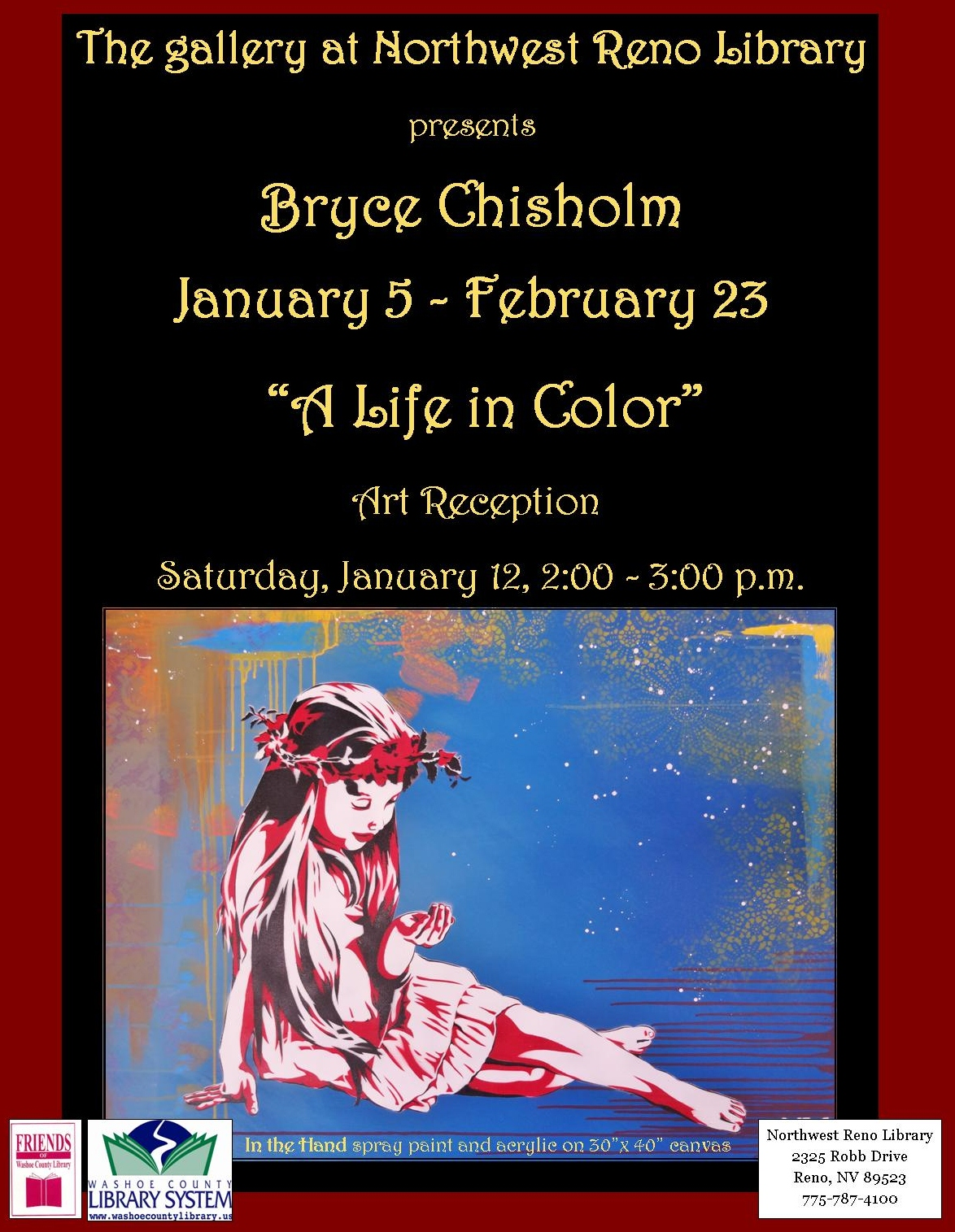 A Life In Color, Sierra View Library