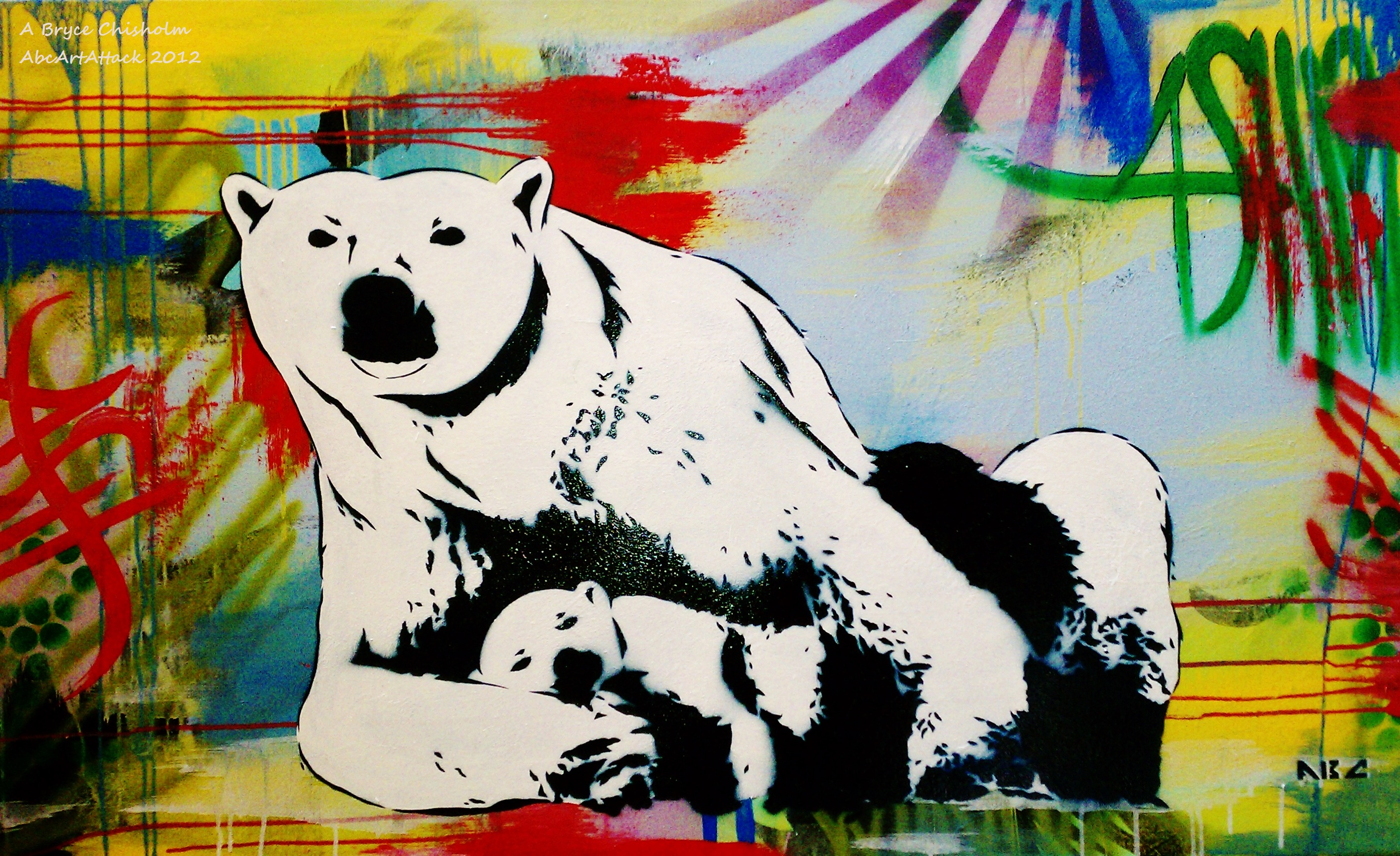 Polar Bear3 30x48in 2012