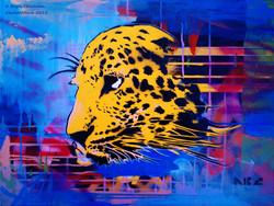 Leopard 16x20in 2012