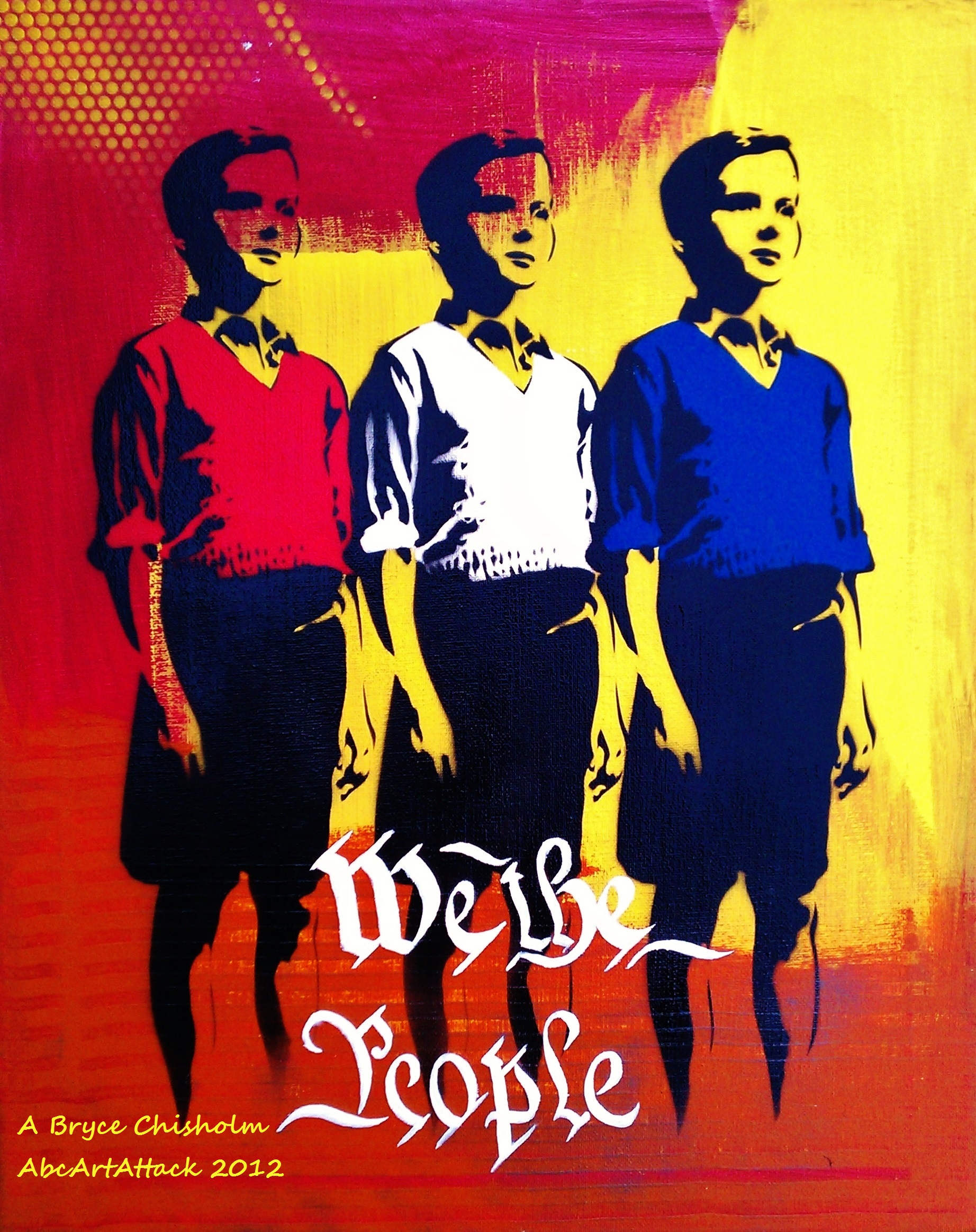 We The People 16x20in 2012
