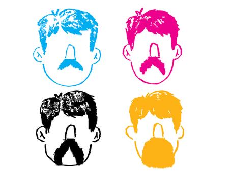 Last Week's Mustache: Day 1