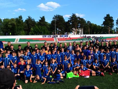 Встреча с  родоначальниками мирового футбола!