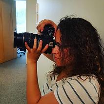 ParaDYM Student takes professional photo