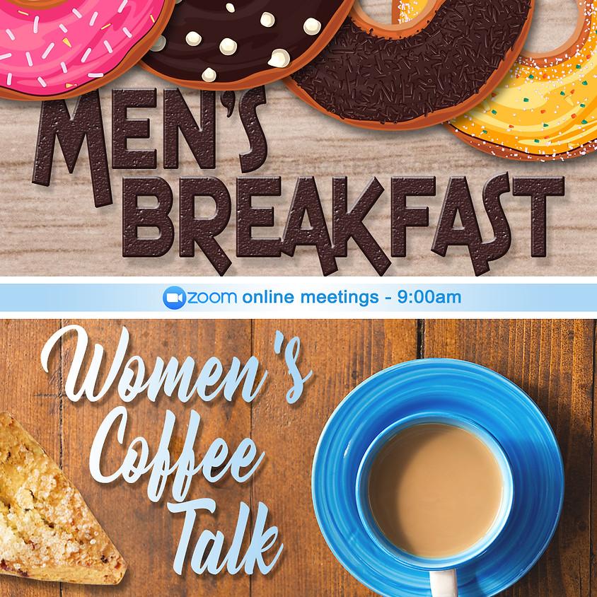 Women's Coffee Talk Online Zoom