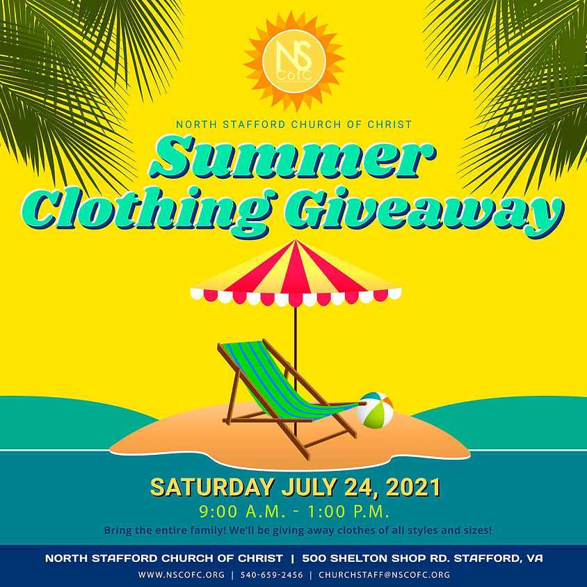 Summer Clothing Give-Away