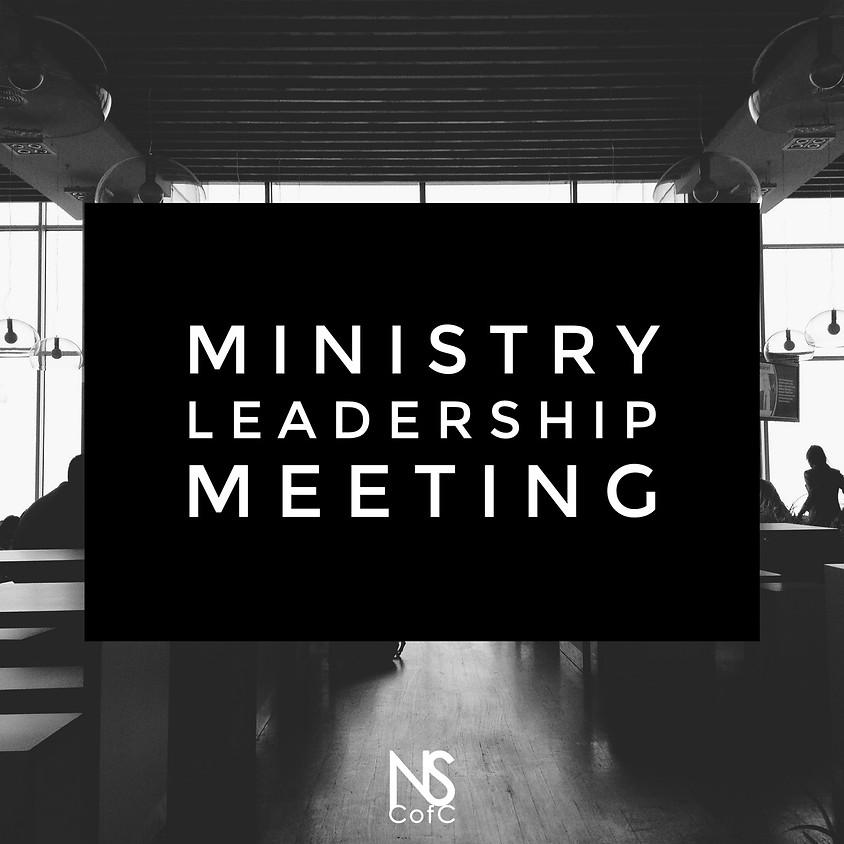 Ministry Leadership Meeting