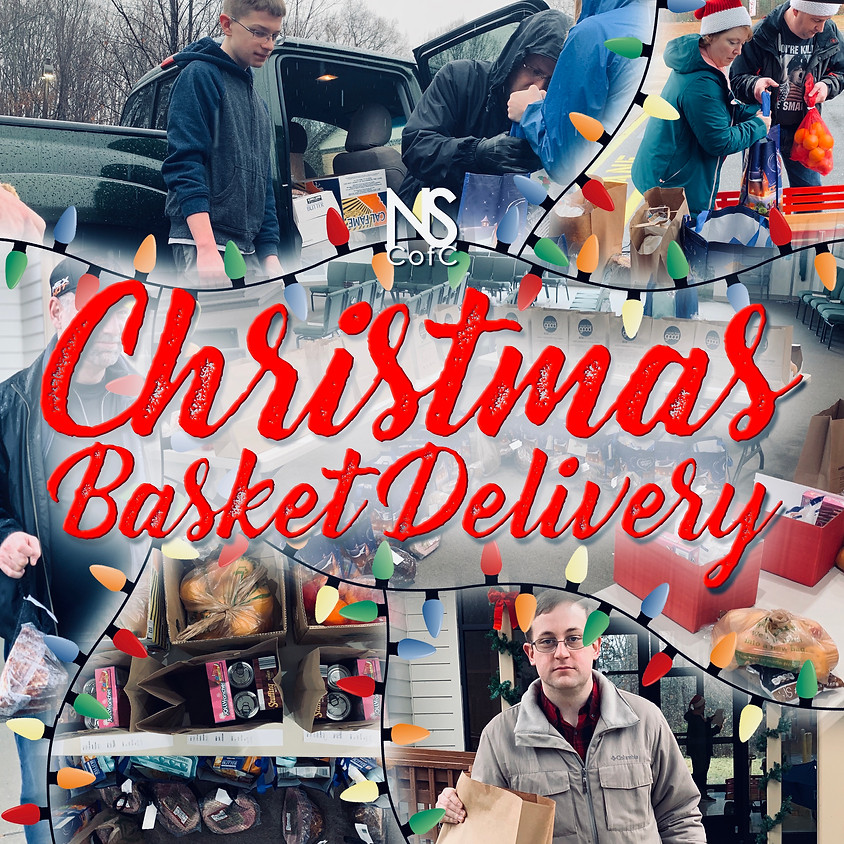 Christmas Basket Delivery