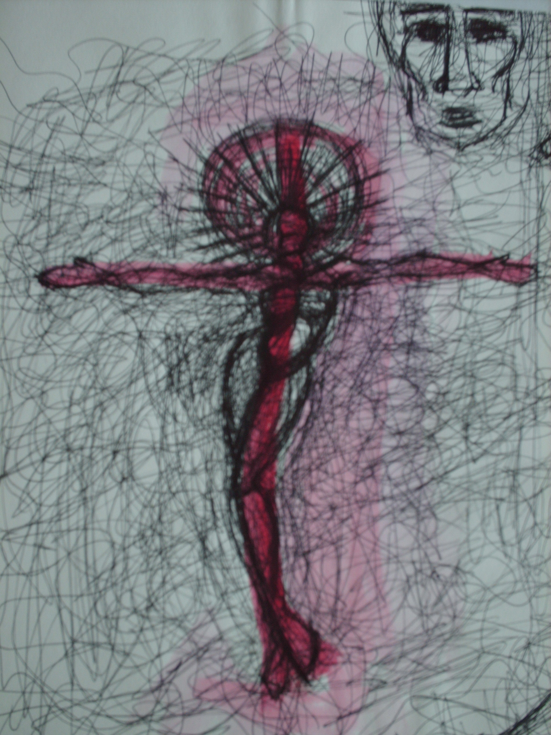 Cross (2012) Unframed