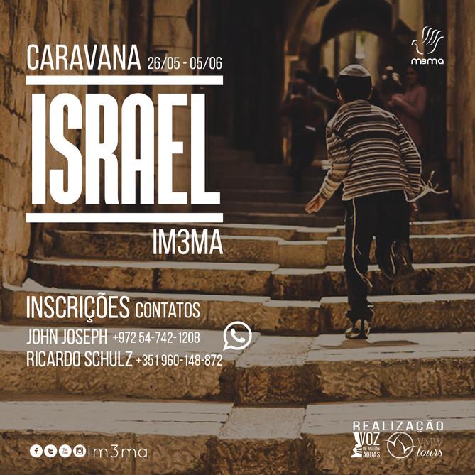 Junte-se a nós! Caravana Israel 2017!