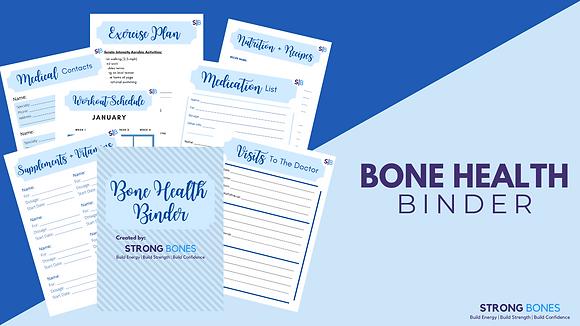 Bone Health Binder