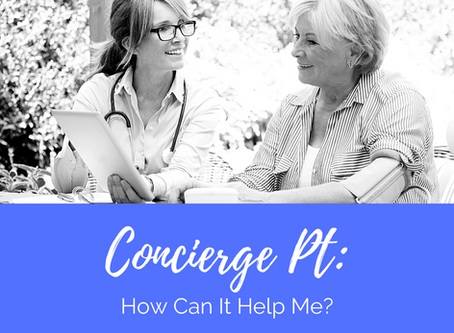 Concierge PT: How Can It Help Me?