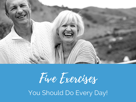 5 Exercises You Should Do Every Day!