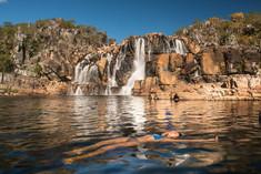 Cachoeira Cariocas Parque Nacional Chapa