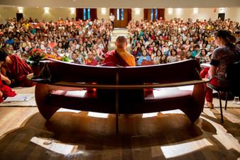 Monja Tenzin Palmo em visita ao Brasil / SP