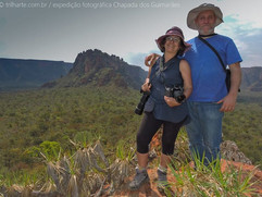 É no mato que a gente se entende! ;)) foto da nossa querida guia e host Cecilia Kawall! style Lampião e Maria Bonita  da fotografia! ;)))