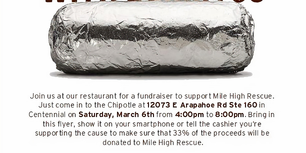 Eat at Chipotle to support MHR!