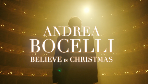 Andrea Bocelli - Believe in Christmas (Trailer Live Streaming Show)