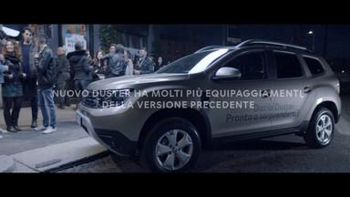 DACIA ITALIA: NUOVO DUSTER SHOCKING TICKET (COMMERCIAL/LIVE)