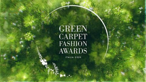 Green Carpet Fashion Awards 2020