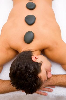 Massaggi hot stone uomo