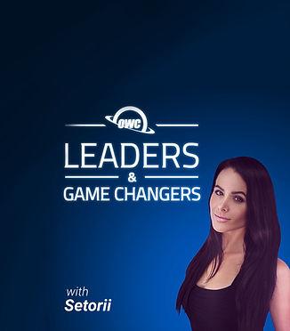 Leaders & GameChangers logo with Setorii