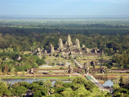 Bird's Eye View of Angkor Wat