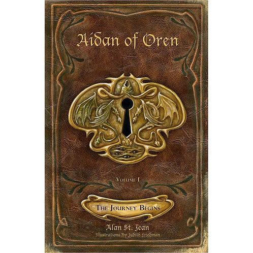 AIDAN OF OREN: THE JOURNEY BEGINS (Soft Cover)