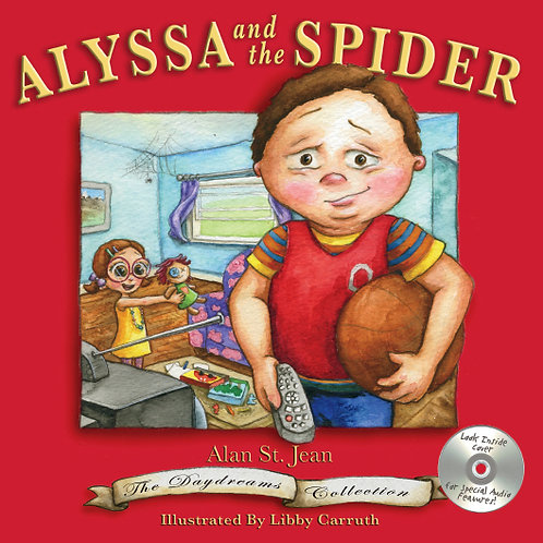 ALYSSA AND THE SPIDER - Daydreams Collection Volume III (Hard Cover)