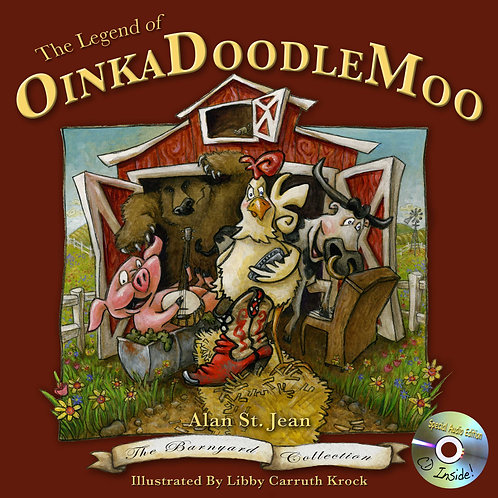 LEGEND OF OINKADOODLEMOO - Barnyard Collection Volume I (Hard Cover)