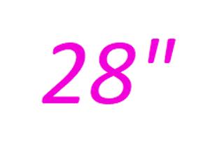 28 inch