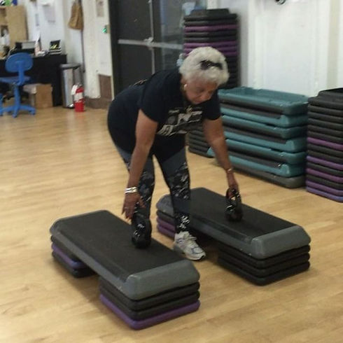 Age is nothing but a number!! She moves better than people half her age! Best client to date💪🏾.jpg