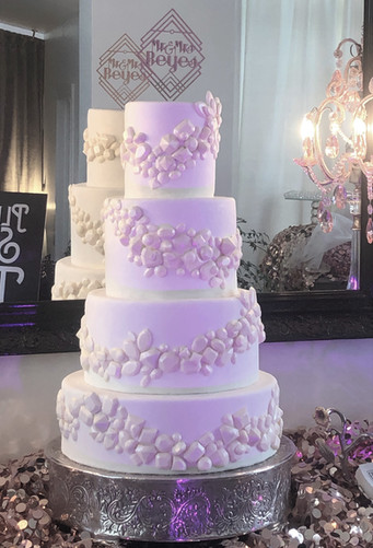 Diamond & Gems Wedding Cake