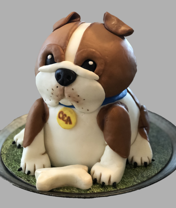 Bulldog - Custom Cake
