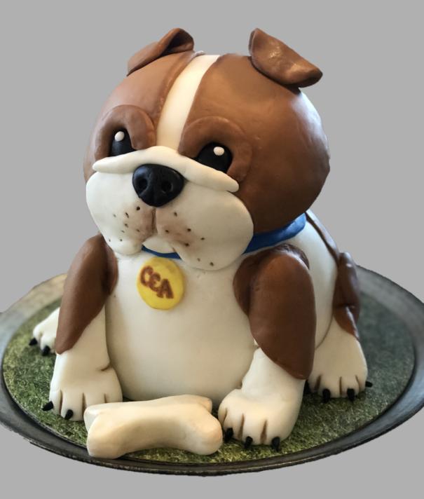 Bulldog - Custom Cake