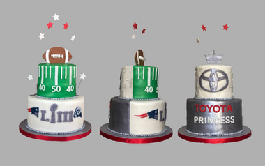 NFL + Toyota Princess Cake