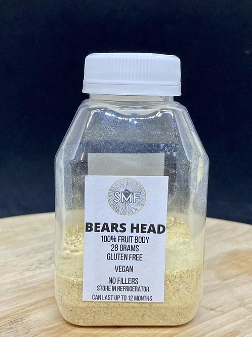 Powdered Bears Head
