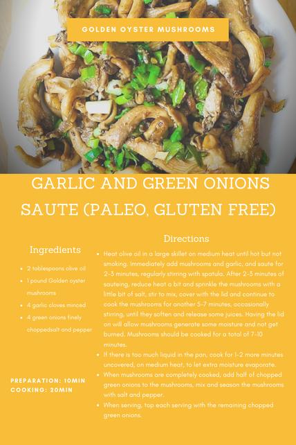 Golden Oyster Saute