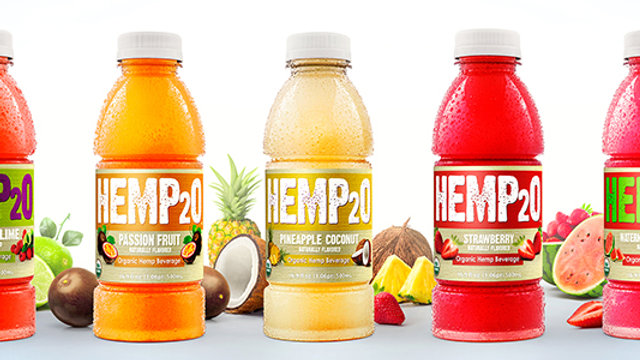HEMP2O 16.9 FL OZ - Vitamin Drink